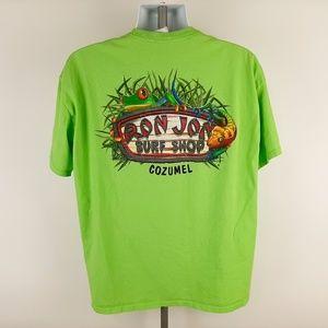 Ron Jon Surf Shop Cozumel Men's T-shirt Size XL Gr